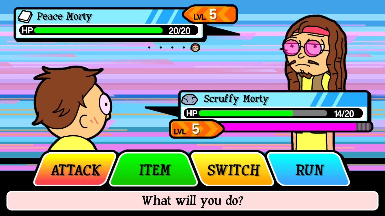 Pocket Mortys androidアプリスクリーンショット2