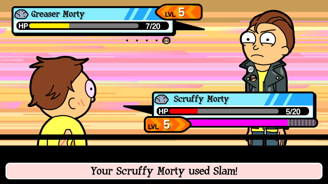 Pocket Mortys androidアプリスクリーンショット3