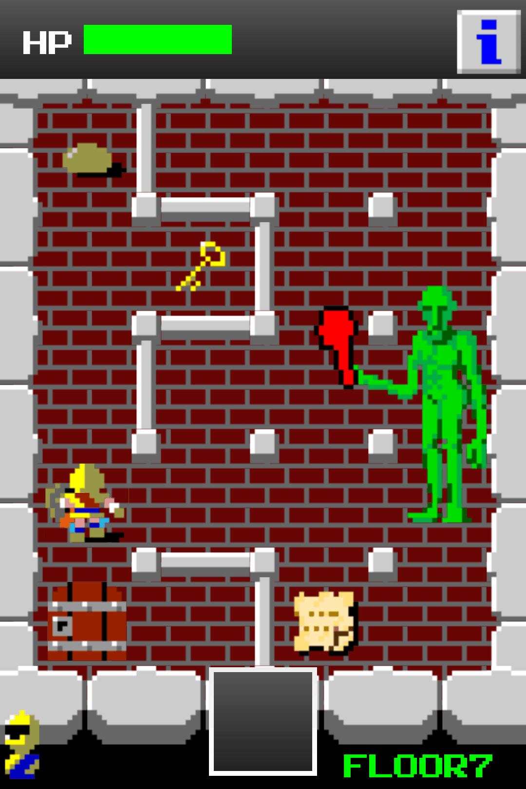 狭くて小さいドルアーガの塔 androidアプリスクリーンショット1