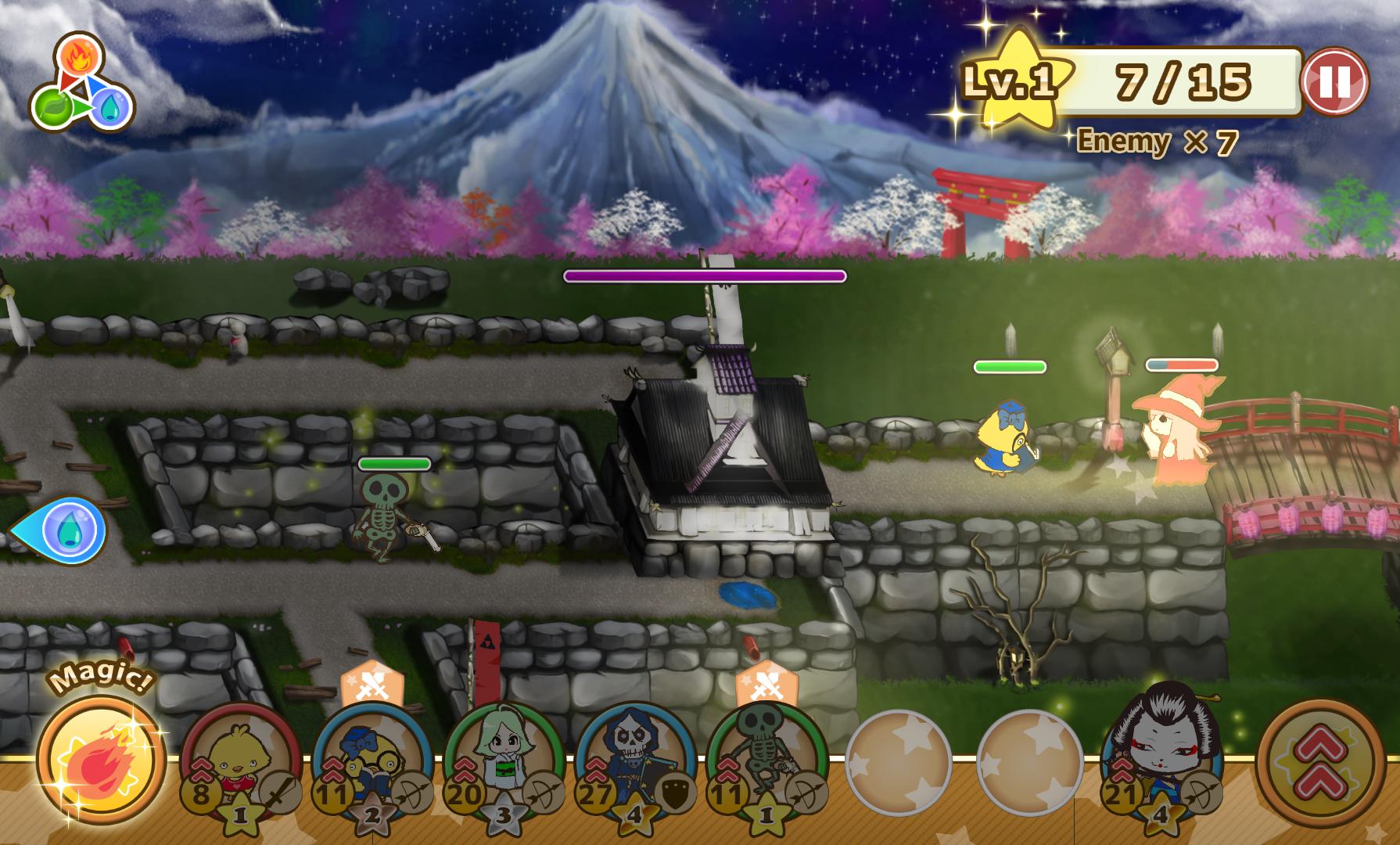 バトルド魔王 ~勇者とハチャメチャ大合戦~ androidアプリスクリーンショット1