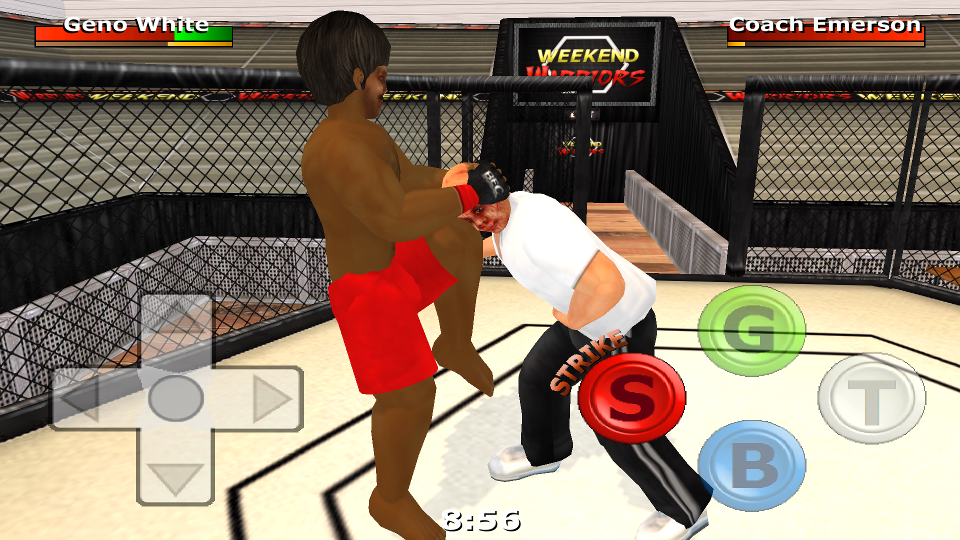 androidアプリ Weekend Warriors MMA攻略スクリーンショット3