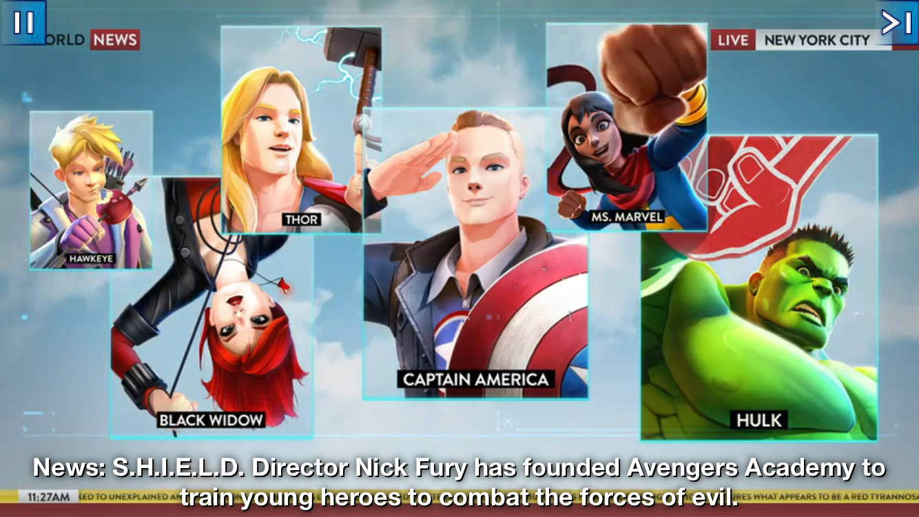 androidアプリ MARVEL Avengers Academy TM攻略スクリーンショット2