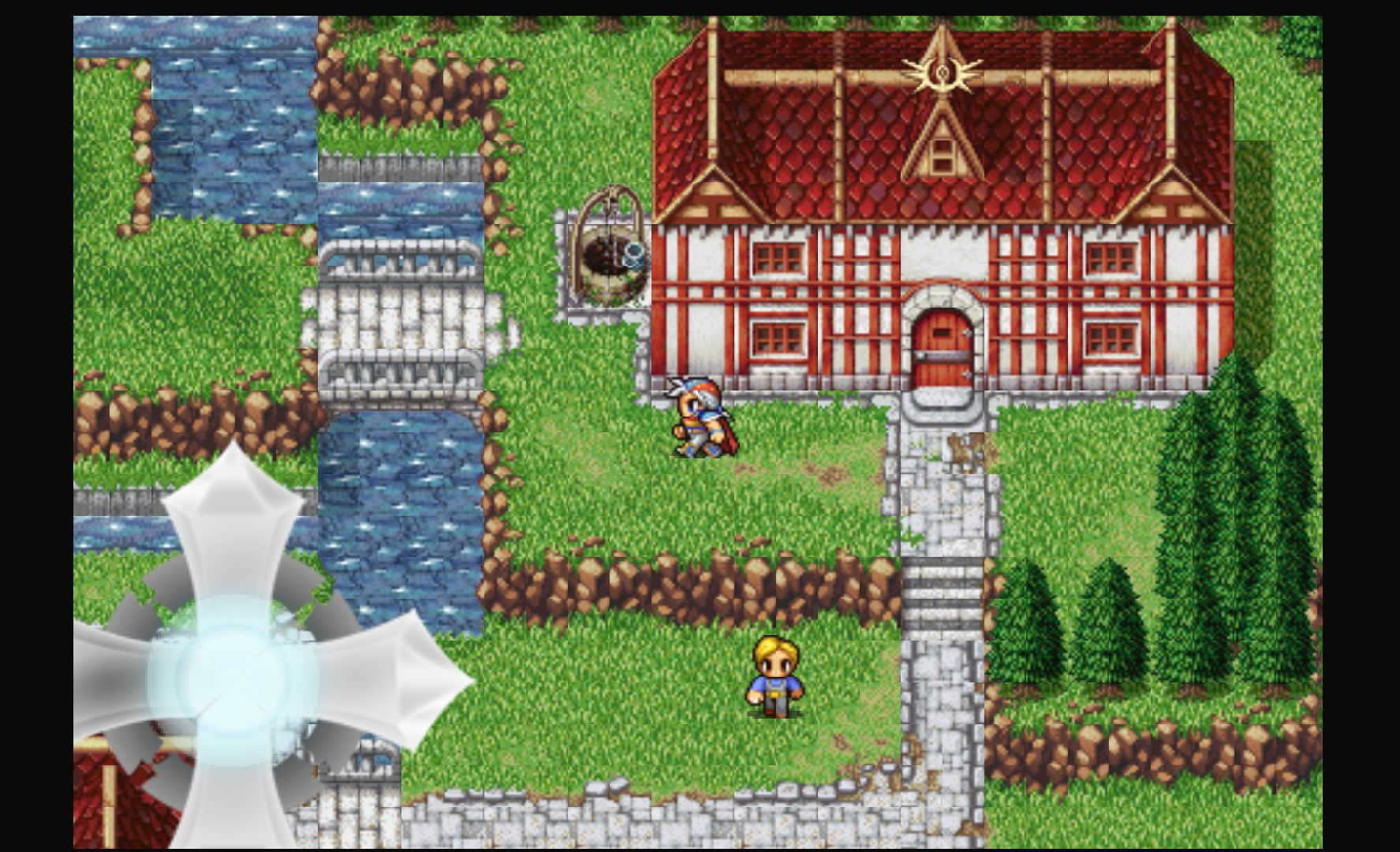androidアプリ FINAL FANTASY II(FFポータル版)攻略スクリーンショット2