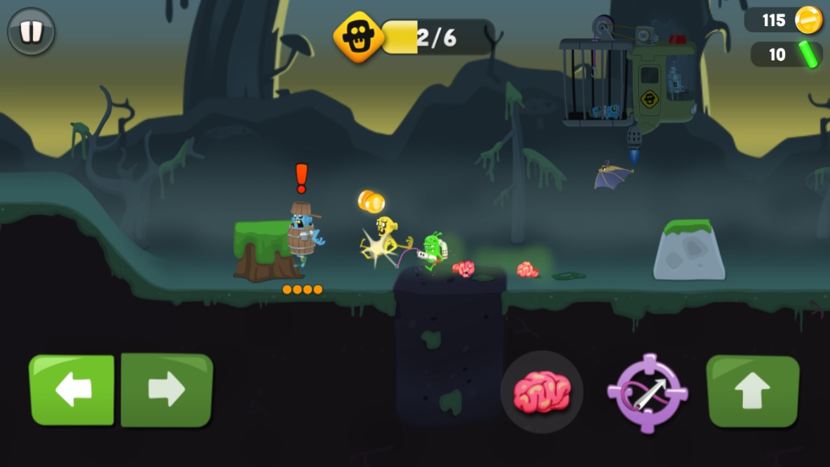 ゾンビキャッチャー (Zombie Catchers) androidアプリスクリーンショット1