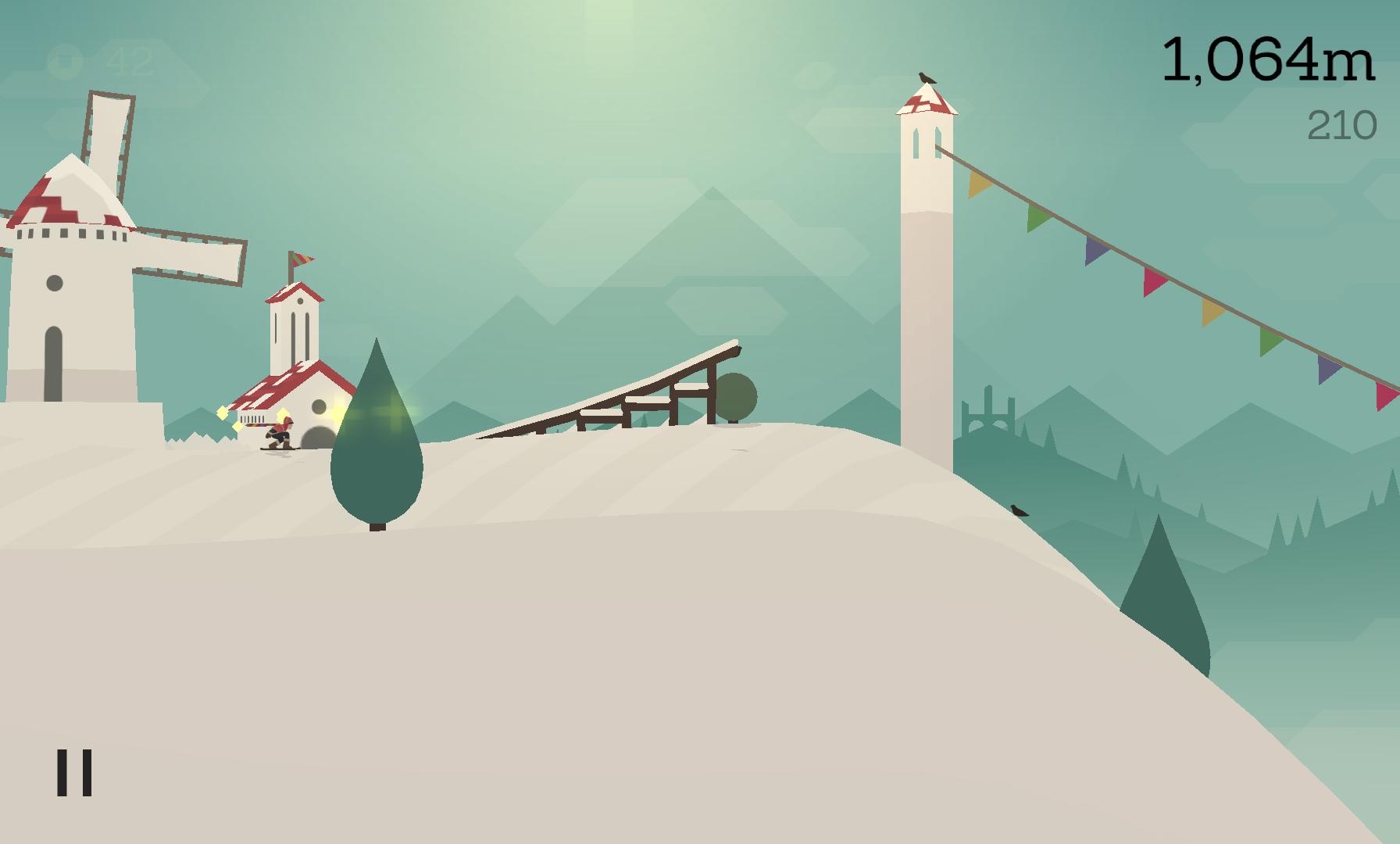 androidアプリ Alto's Adventure攻略スクリーンショット2