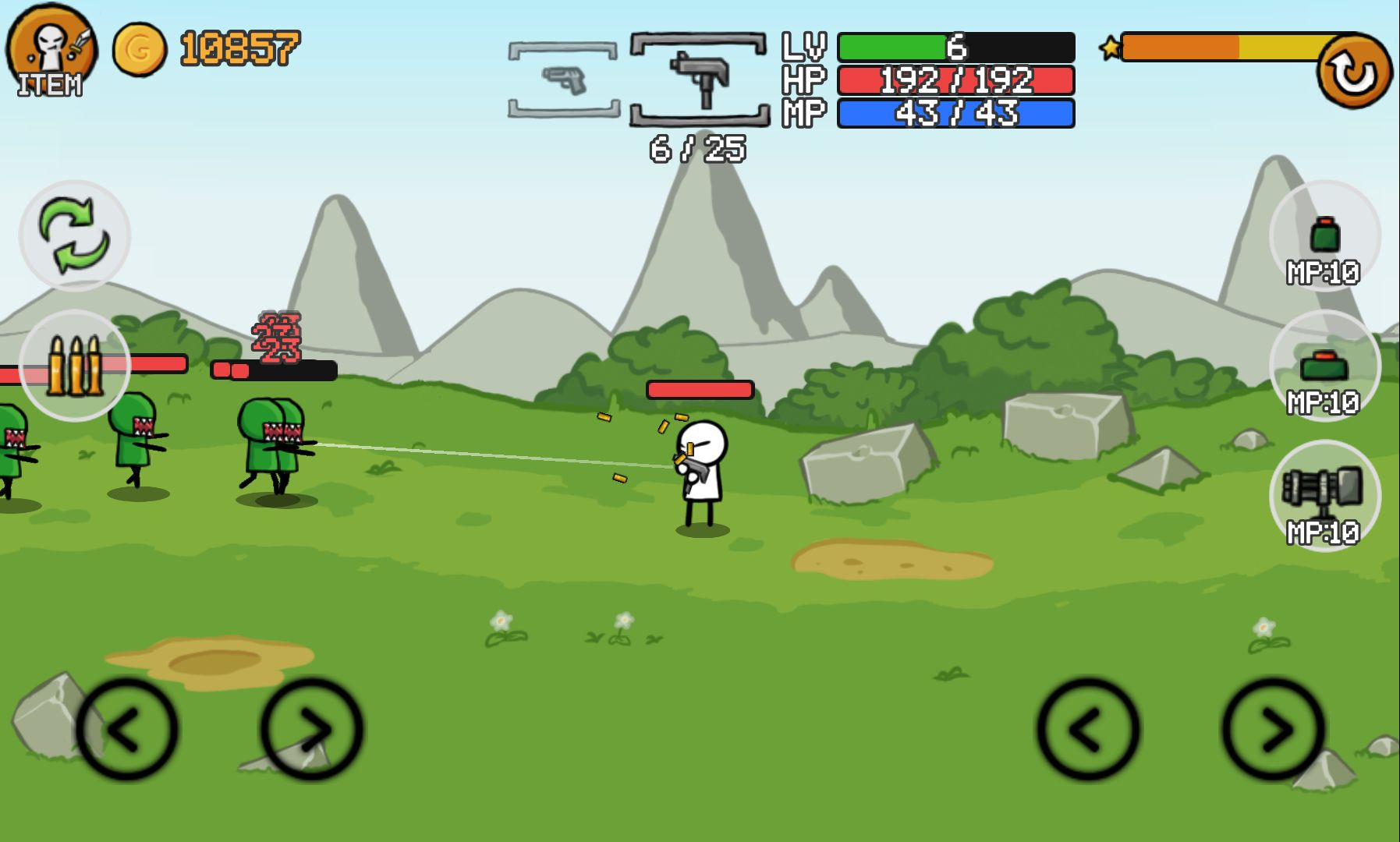 Stickman And Gun2 androidアプリスクリーンショット1