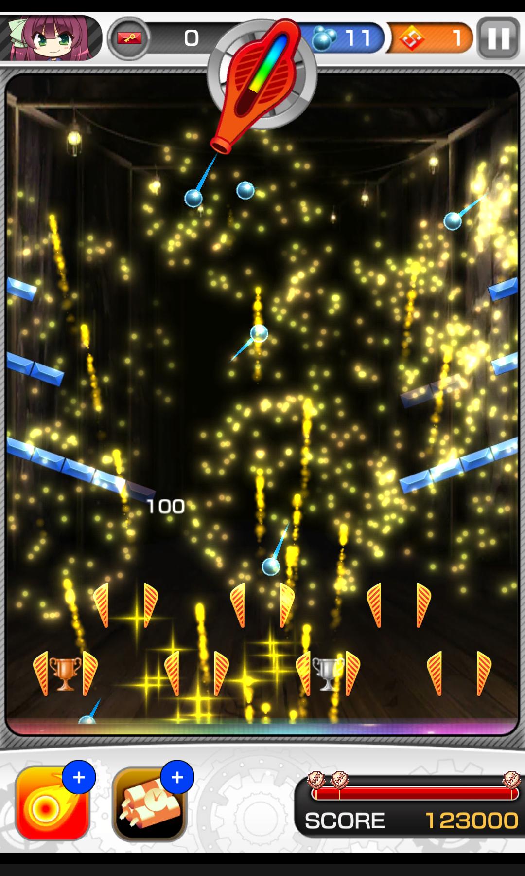 androidアプリ Angel Beats! ゆりっぺのギルド大降下大作戦攻略スクリーンショット3