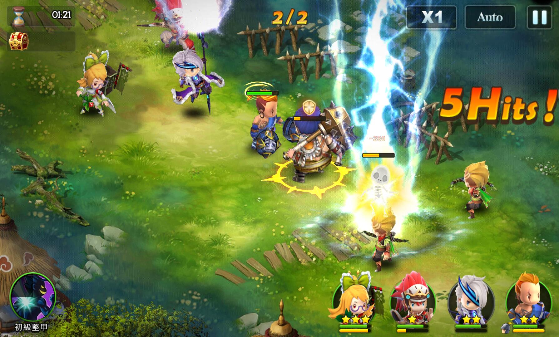 Mystic Kingdom androidアプリスクリーンショット1