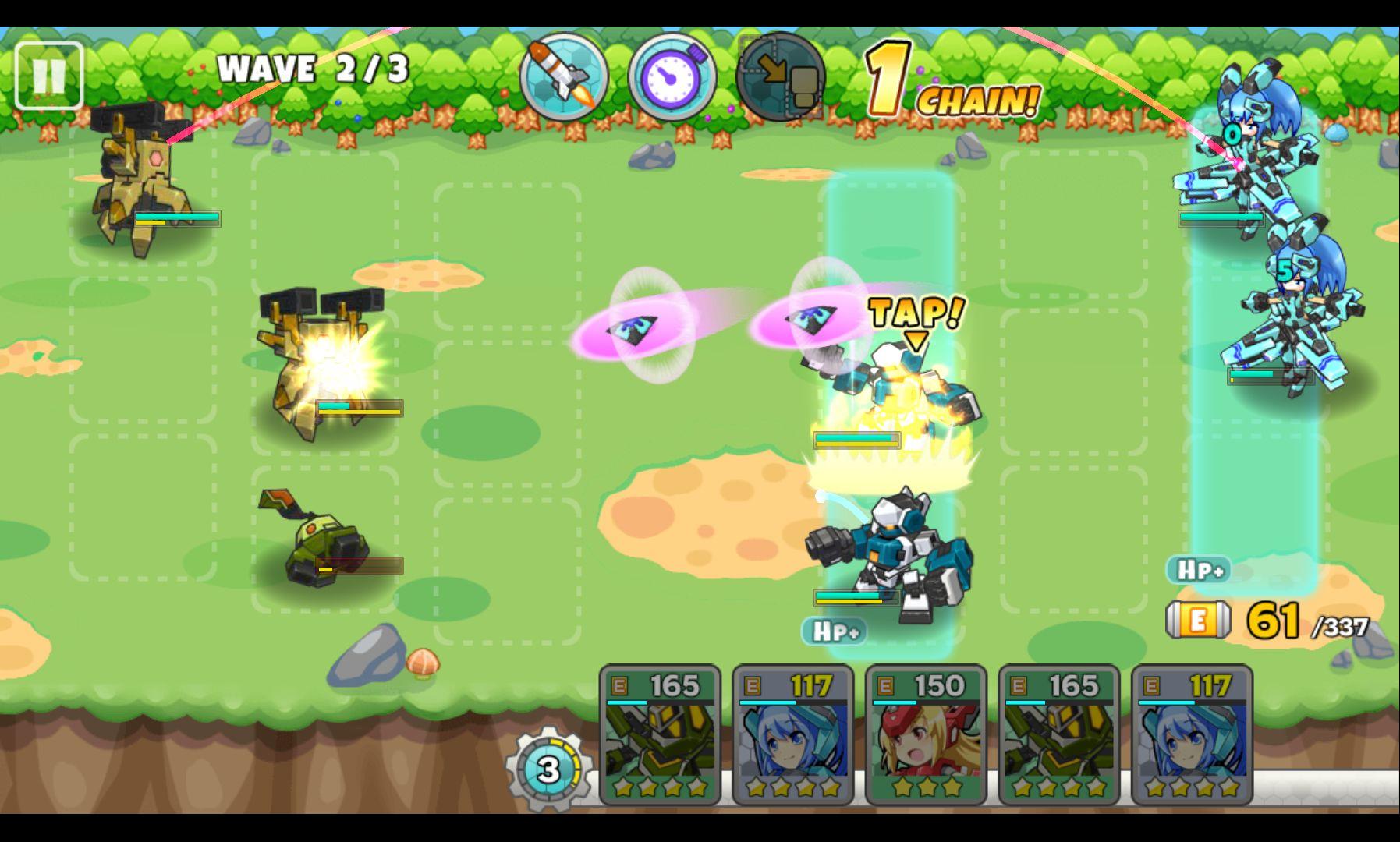 コズミックブレイク ソラの戦団 androidアプリスクリーンショット1