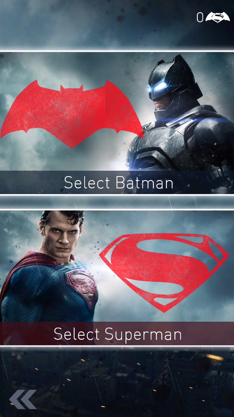 androidアプリ バットマン vs スーパーマン:世紀の対決攻略スクリーンショット1