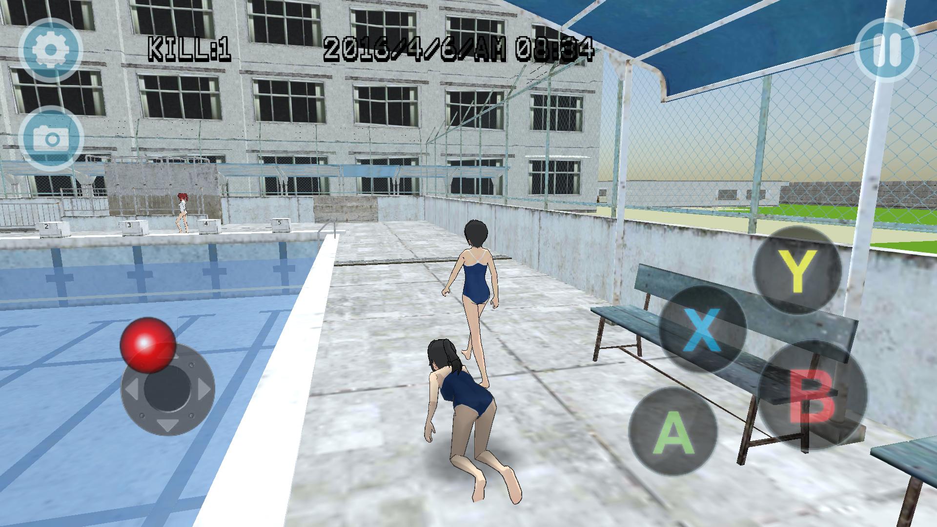 androidアプリ High School Simulator GirlA BT攻略スクリーンショット4