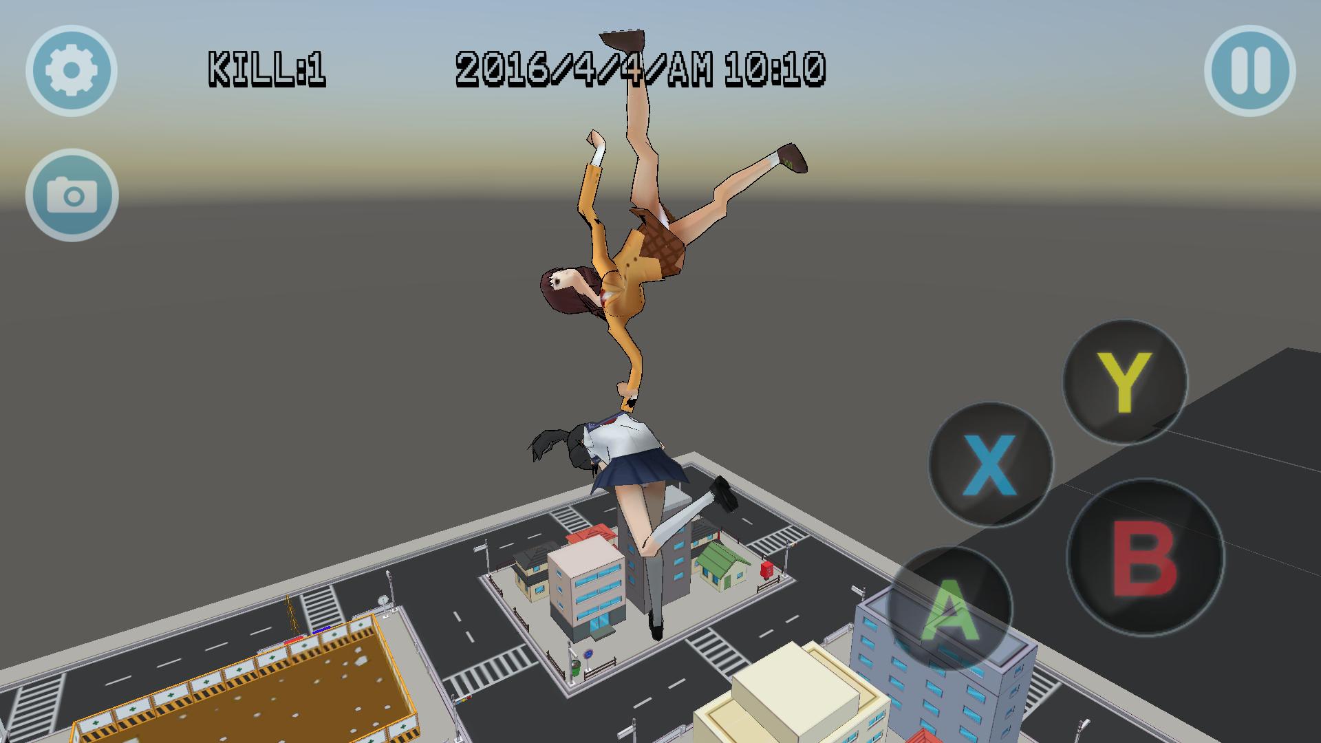 androidアプリ High School Simulator GirlA BT攻略スクリーンショット7