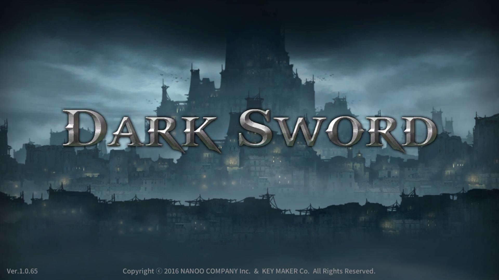 androidアプリ ダークソード(Dark Sword)攻略スクリーンショット1