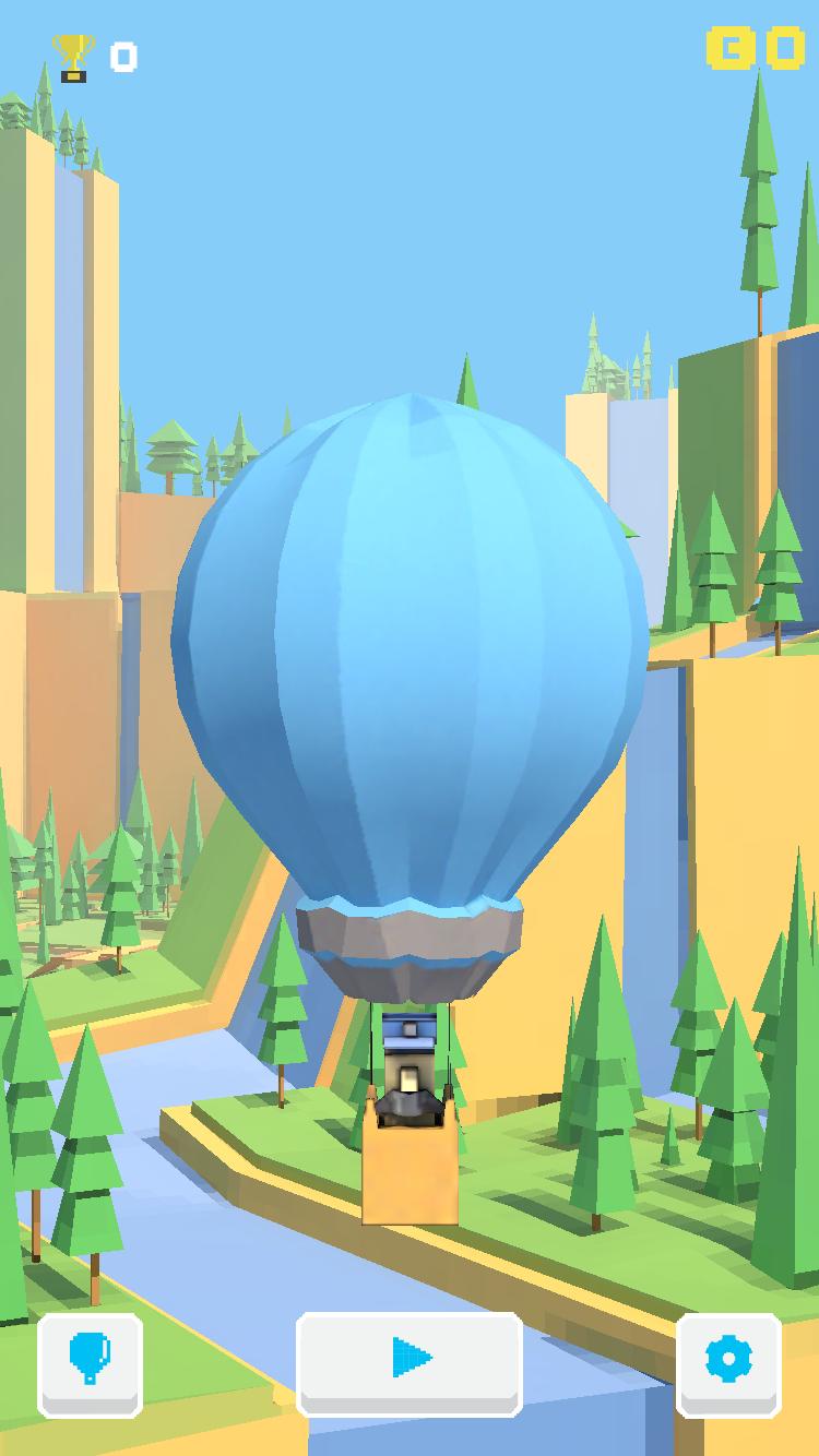 androidアプリ Don't Pop! - 無限のバルーンチラシ攻略スクリーンショット1