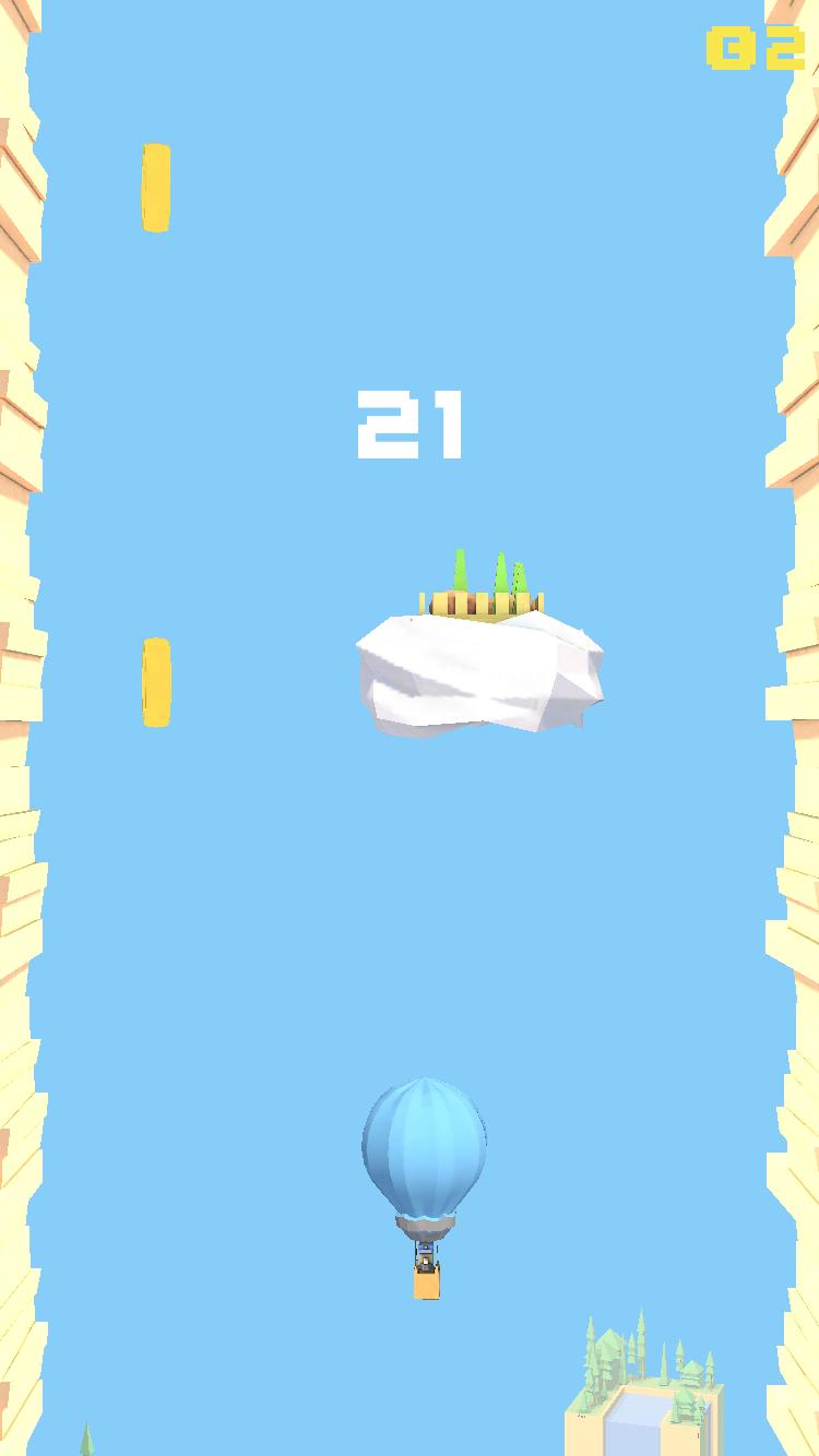 Don't Pop! - 無限のバルーンチラシ androidアプリスクリーンショット3