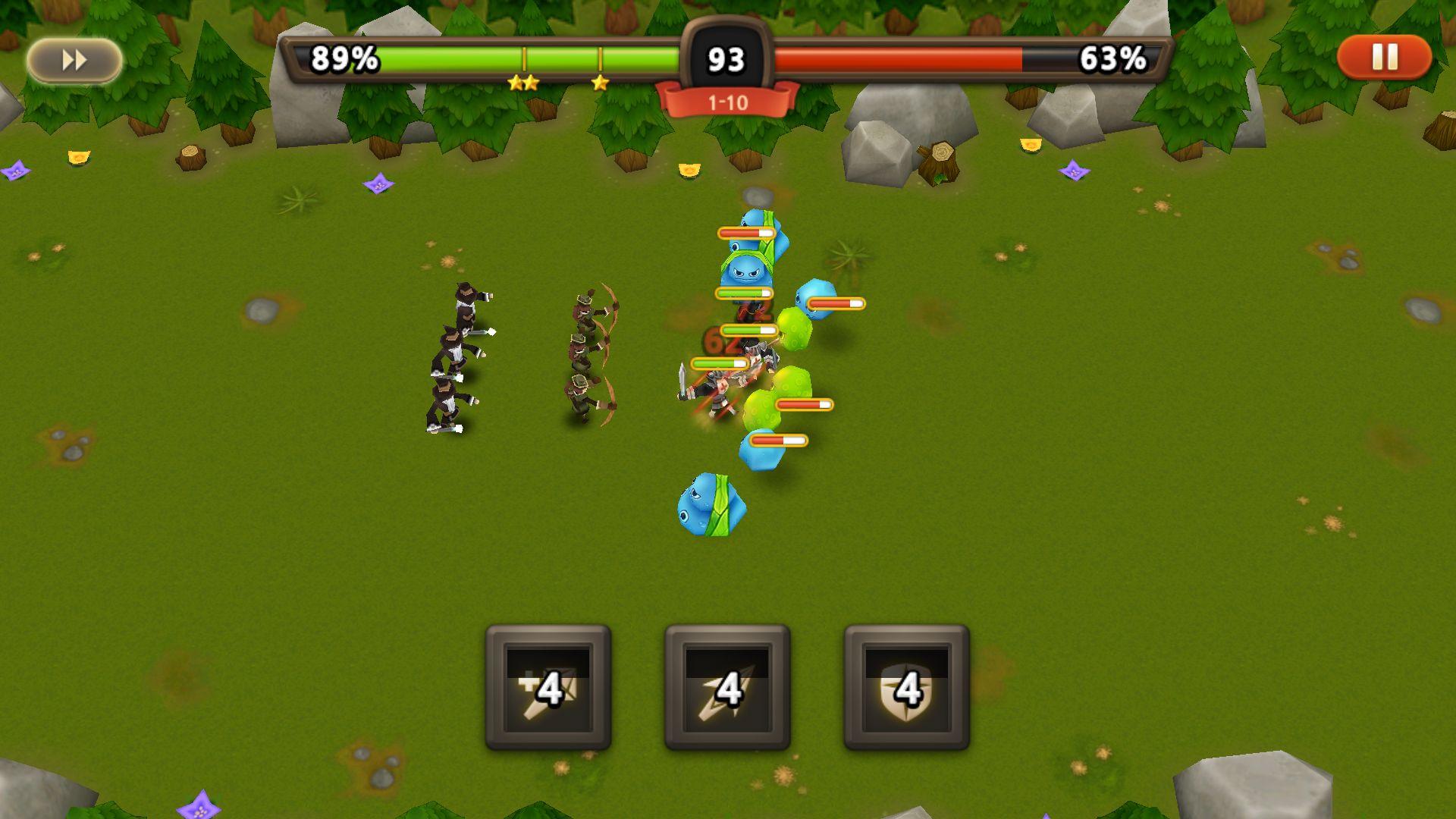 androidアプリ 勇士は武器が必要だ攻略スクリーンショット2