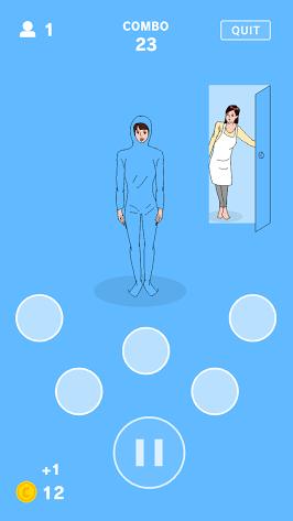 androidアプリ うしろ!うしろ!攻略スクリーンショット2