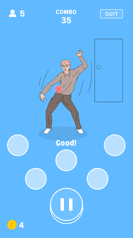 androidアプリ うしろ!うしろ!攻略スクリーンショット6
