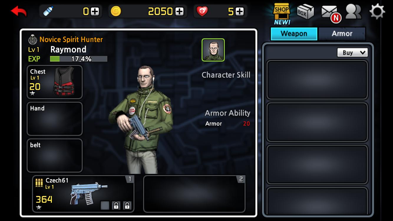 androidアプリ Spirit Hunter攻略スクリーンショット5