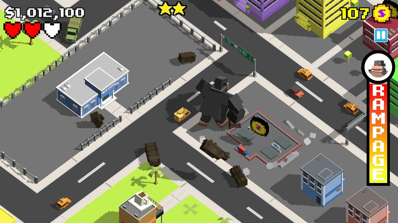 androidアプリ Smashy City攻略スクリーンショット2