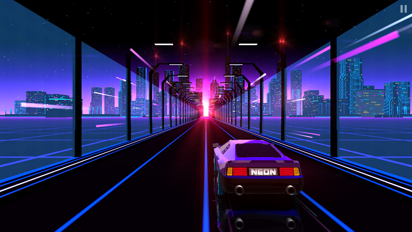 Neon Drive androidアプリスクリーンショット1