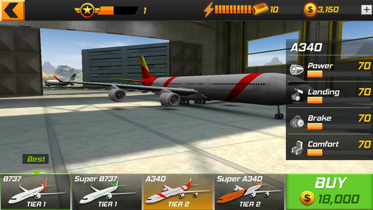 androidアプリ Flight Alert Simulator 3D Free攻略スクリーンショット2