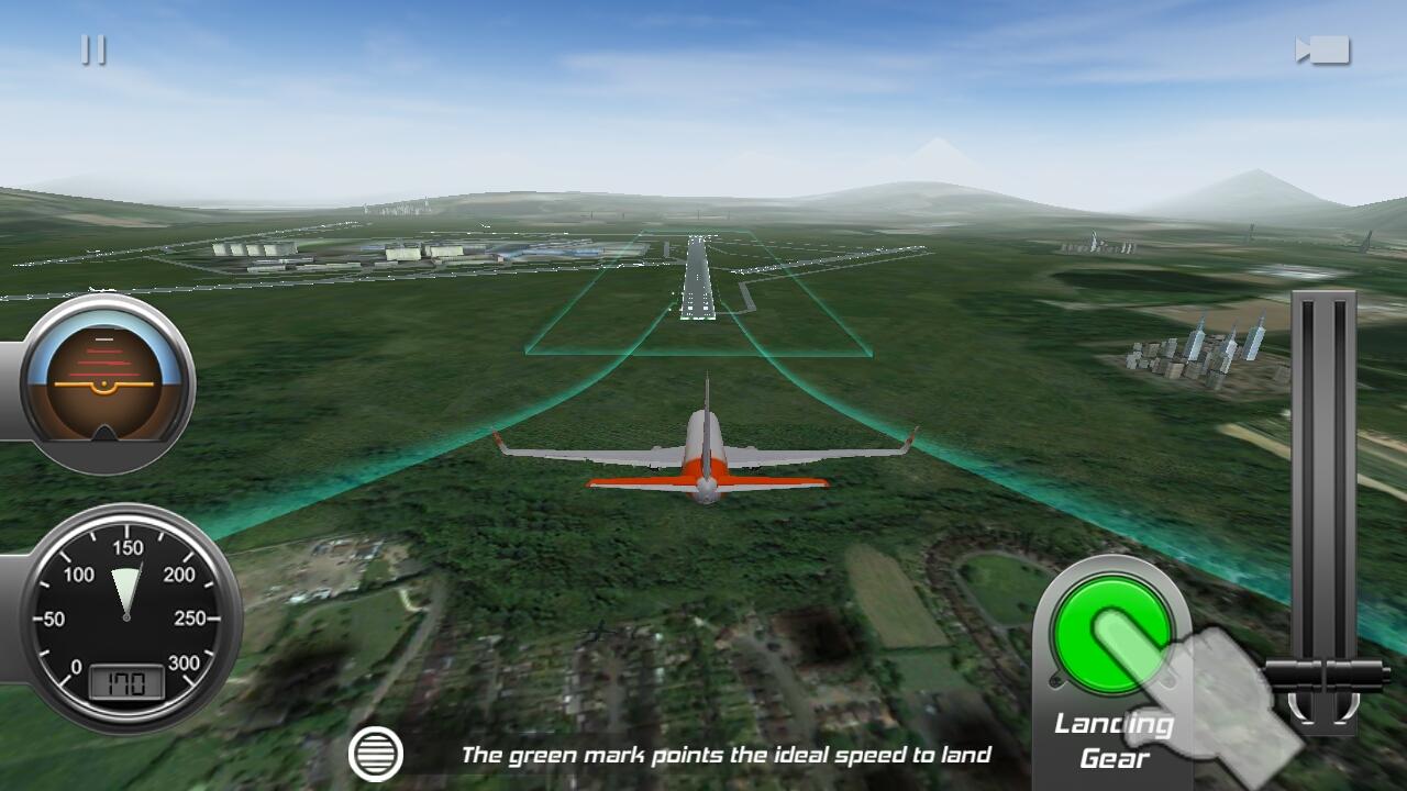 androidアプリ Flight Alert Simulator 3D Free攻略スクリーンショット3