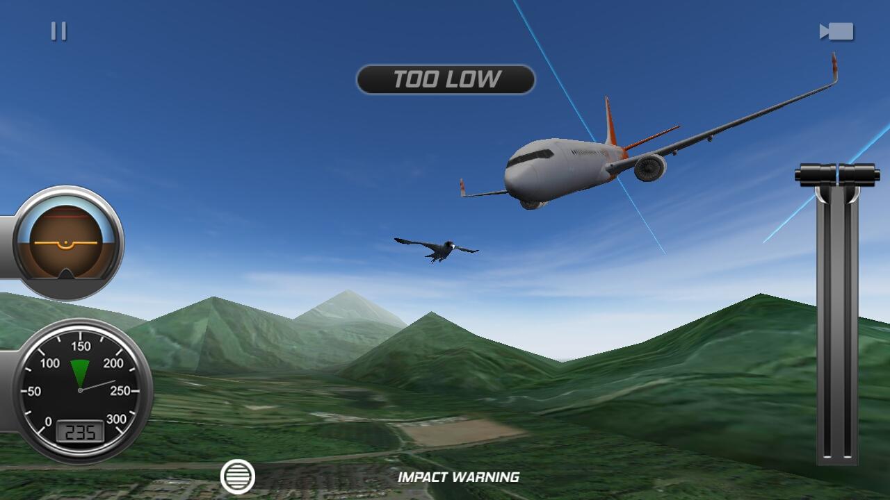 androidアプリ Flight Alert Simulator 3D Free攻略スクリーンショット5