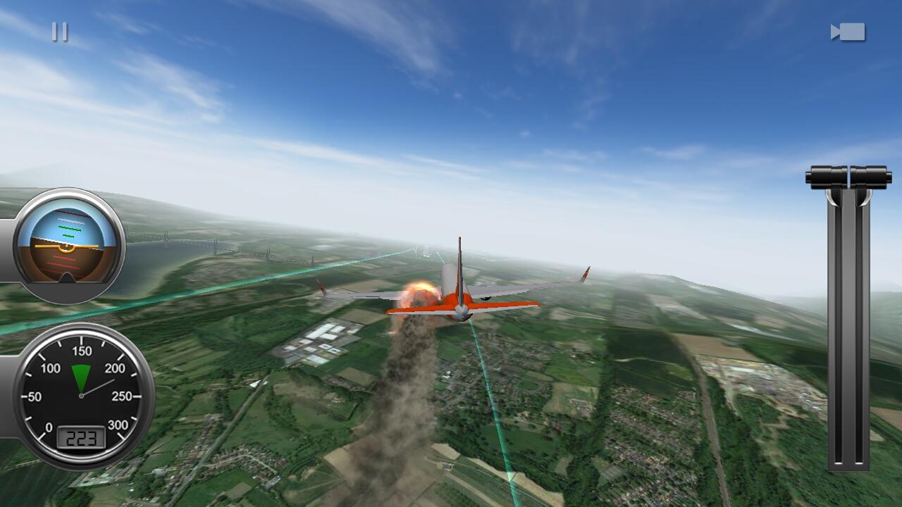 androidアプリ Flight Alert Simulator 3D Free攻略スクリーンショット7
