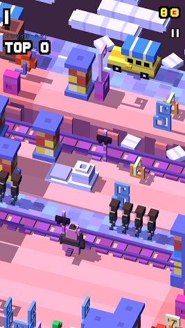 androidアプリ Disney クロッシーロード攻略スクリーンショット1