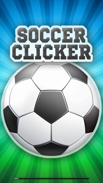 androidアプリ サッカー・クリッカー攻略スクリーンショット1