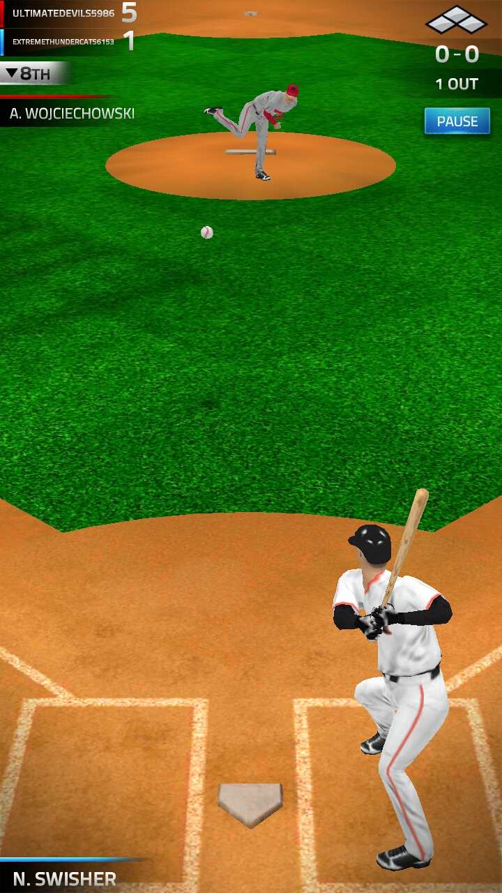 TAP SPORTS BASEBALL 2016 androidアプリスクリーンショット1