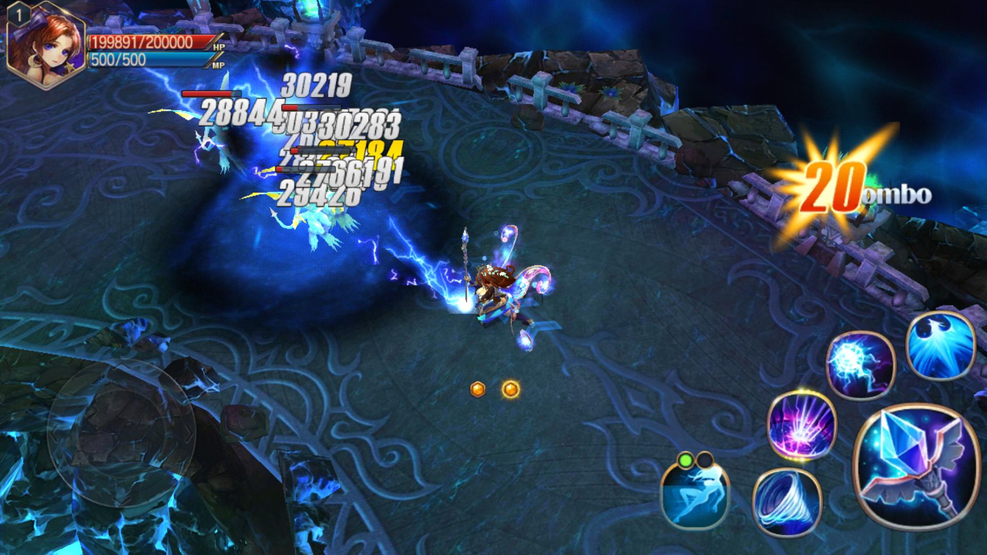 androidアプリ ドリームタワー 無双の剣姫攻略スクリーンショット2