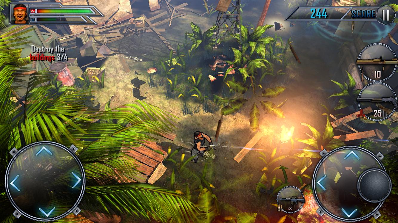 androidアプリ Assault Commando 2攻略スクリーンショット2