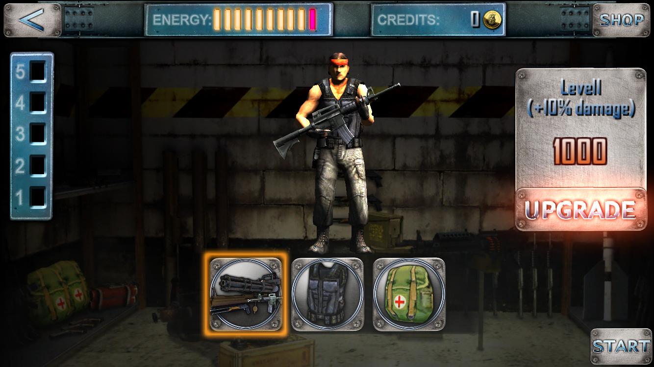 androidアプリ Assault Commando 2攻略スクリーンショット4