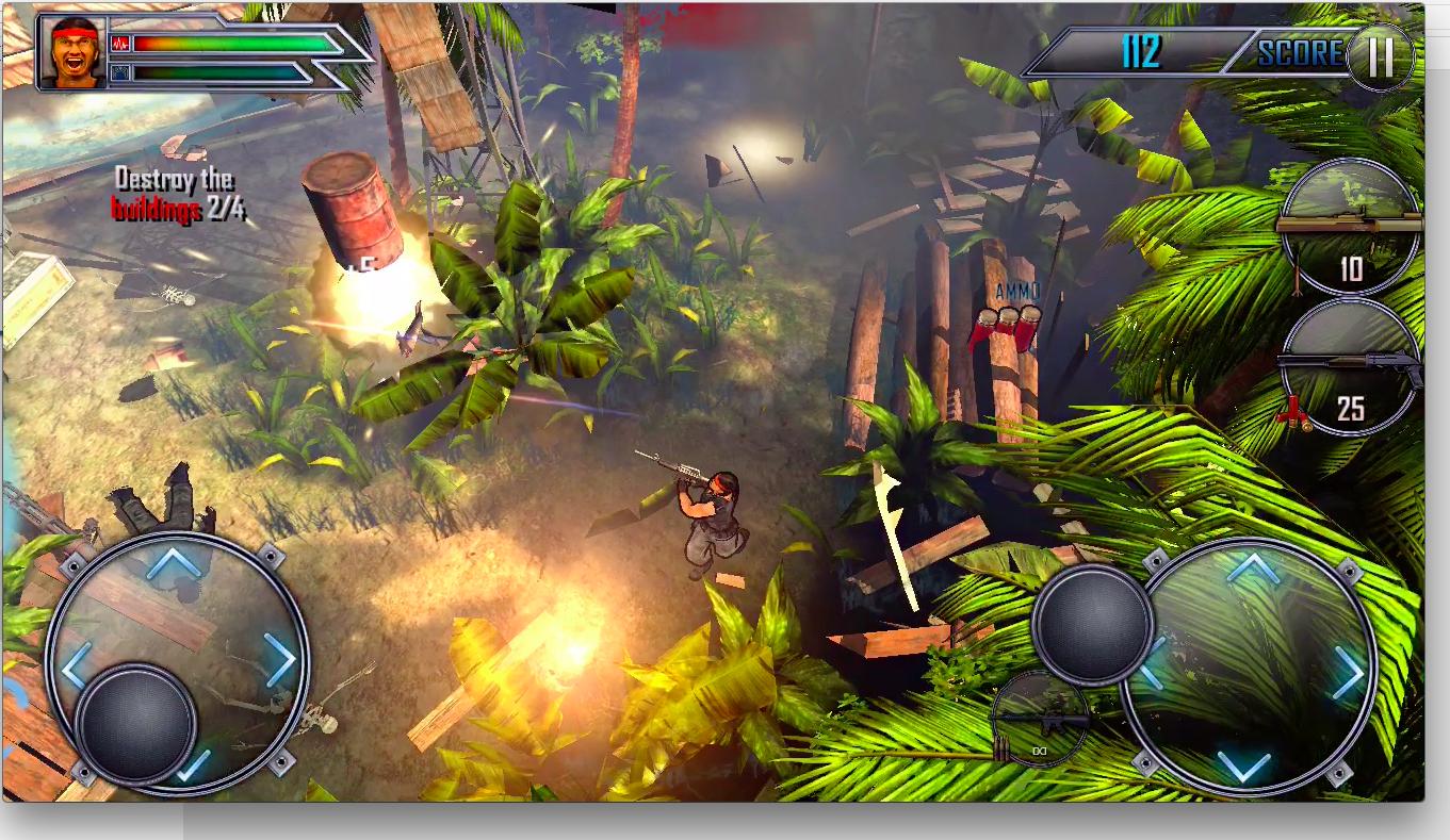 Assault Commando 2 androidアプリスクリーンショット1