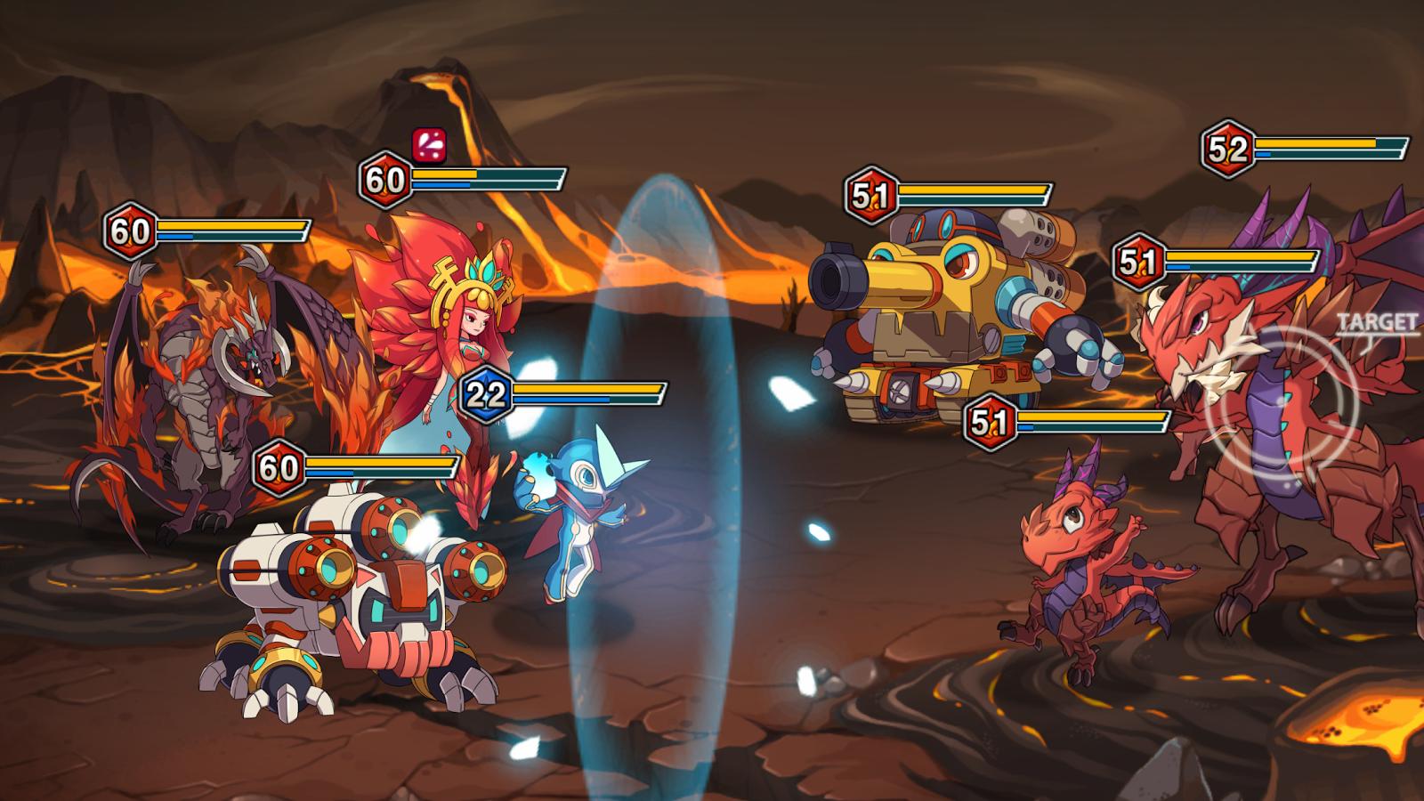 モンスターレイド(Monster Raid) androidアプリスクリーンショット1