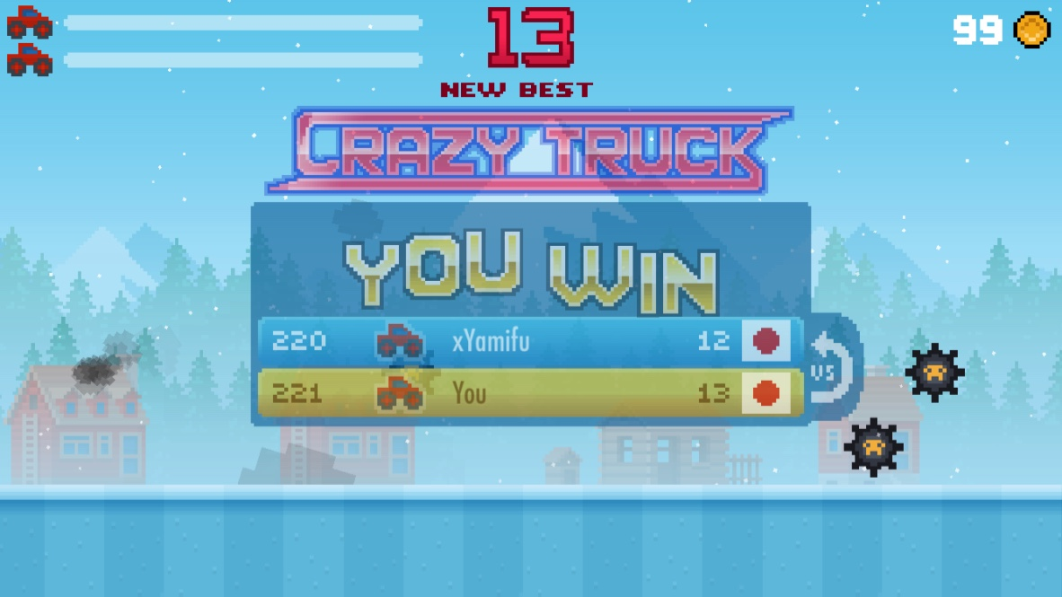 androidアプリ Crazy Truck!攻略スクリーンショット5