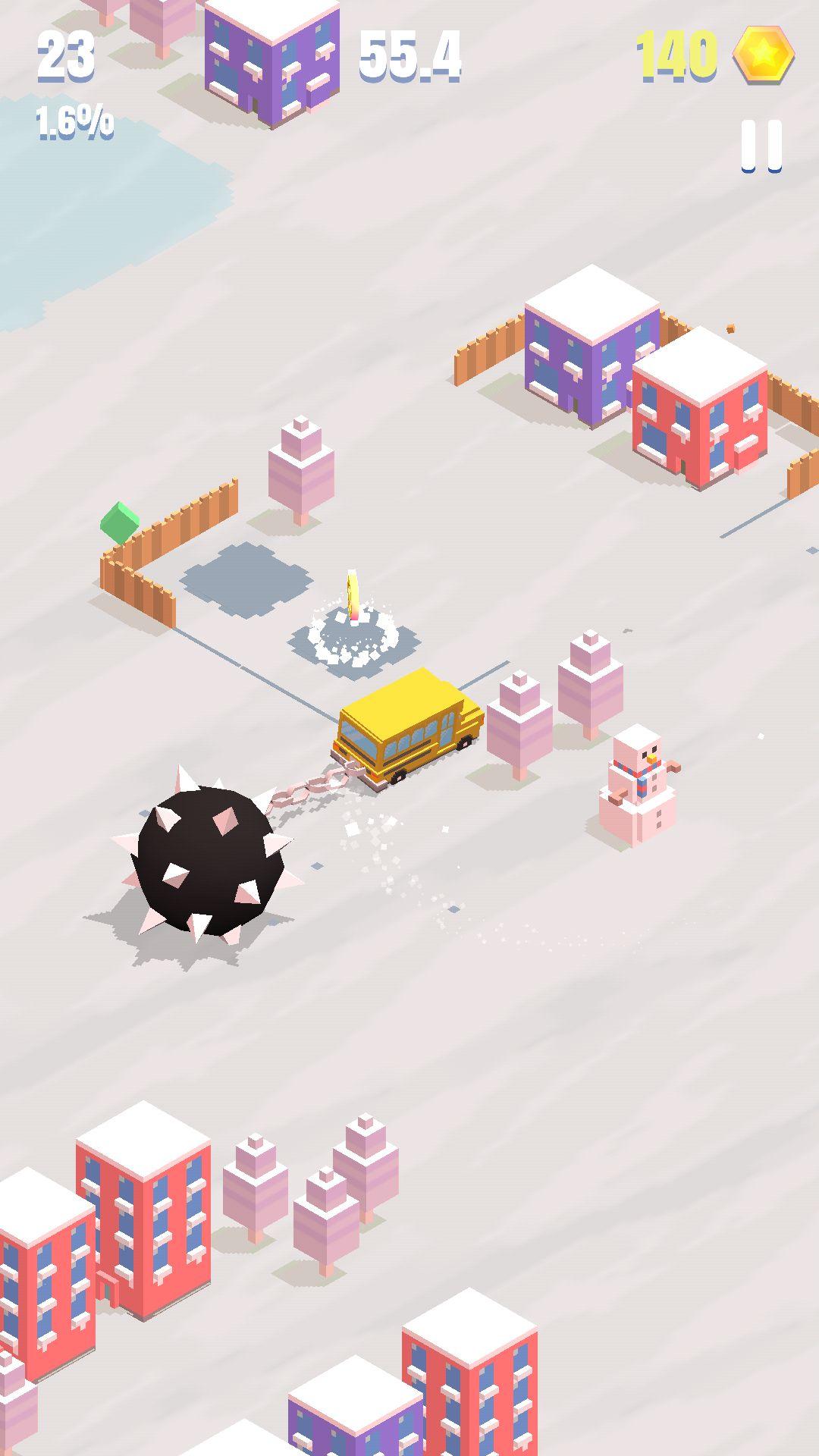 androidアプリ フレイルライダー(Flail Rider)攻略スクリーンショット4