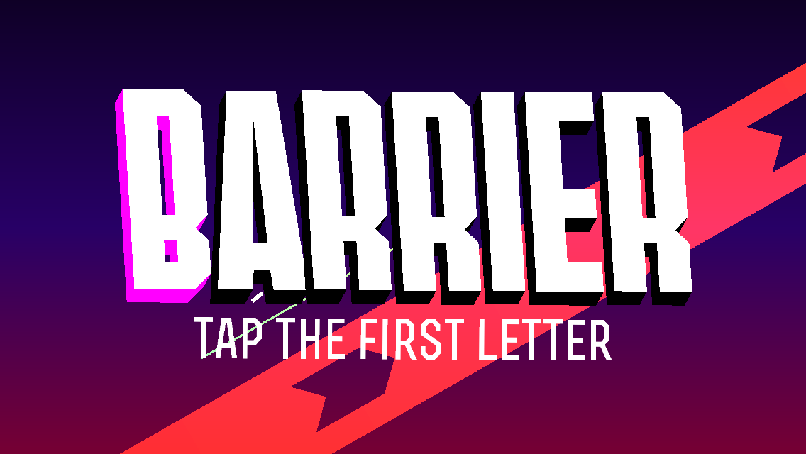androidアプリ BARRIER X攻略スクリーンショット1
