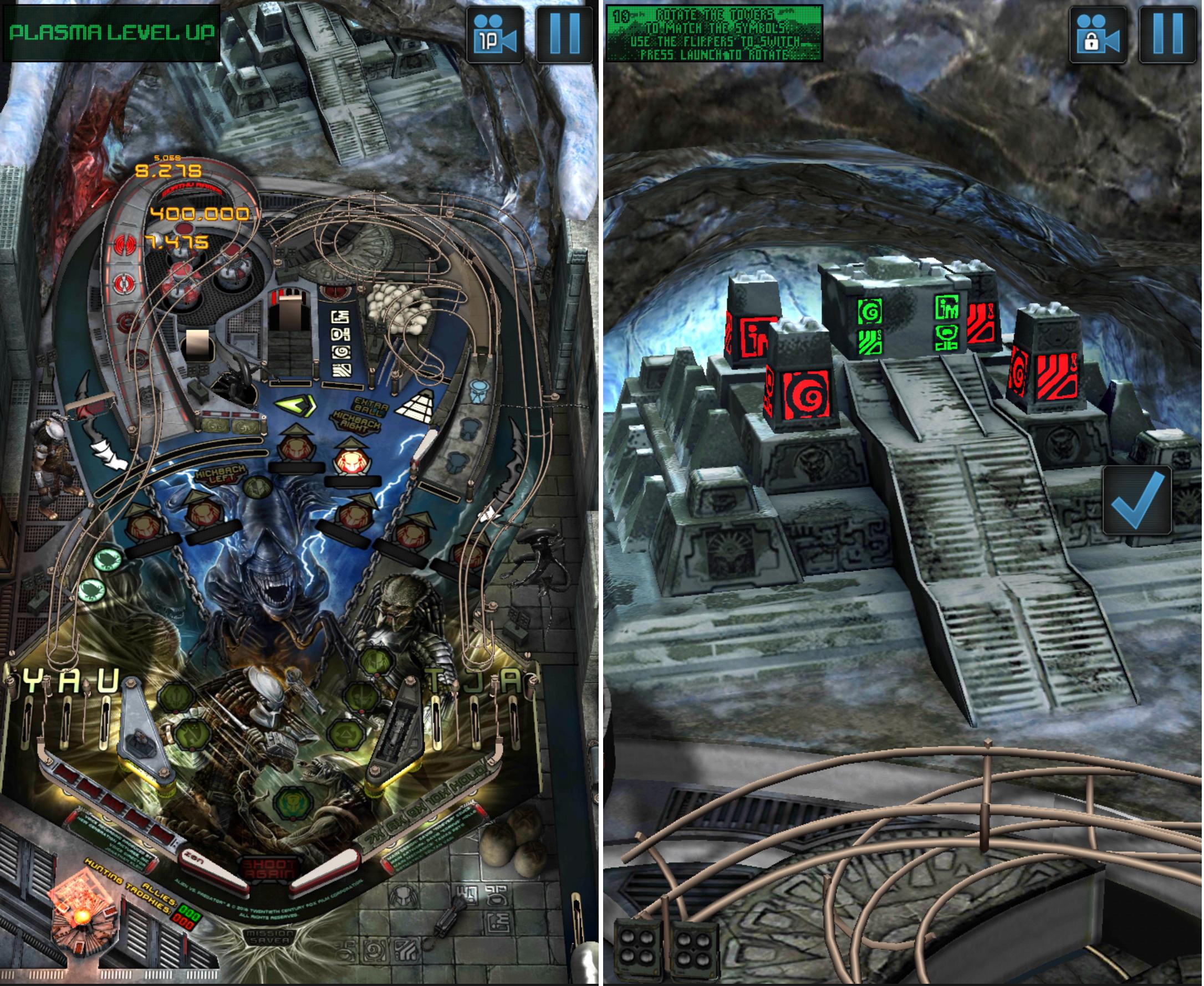 Aliens vs. Pinball androidアプリスクリーンショット1