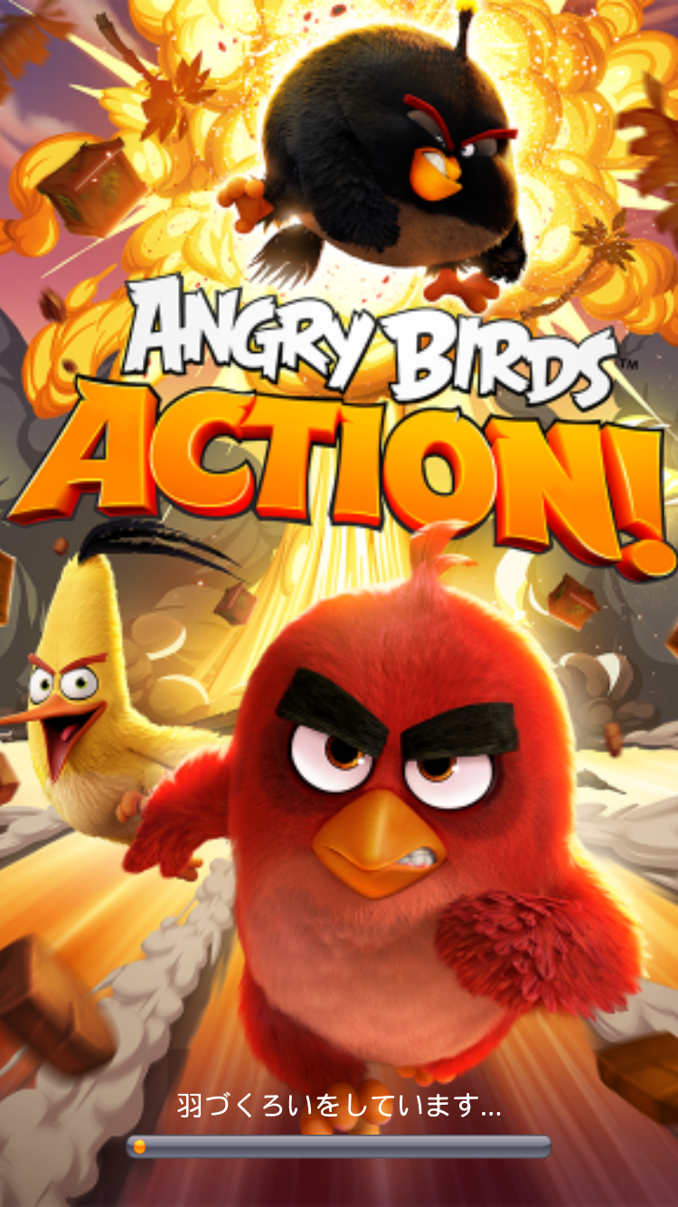 androidアプリ Angry Birds Action!攻略スクリーンショット1