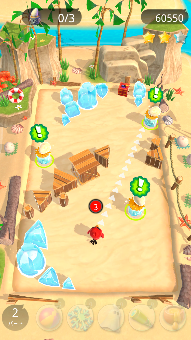 androidアプリ Angry Birds Action!攻略スクリーンショット2