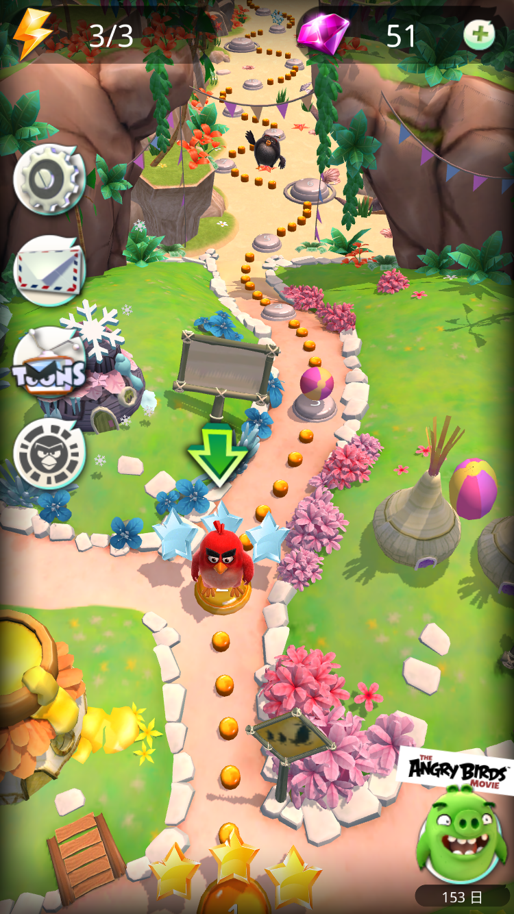 androidアプリ Angry Birds Action!攻略スクリーンショット4