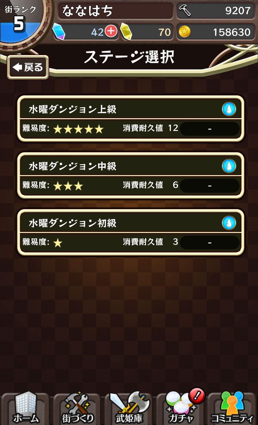 androidアプリ 東京ダンジョンRPG ひめローグっ!攻略スクリーンショット1