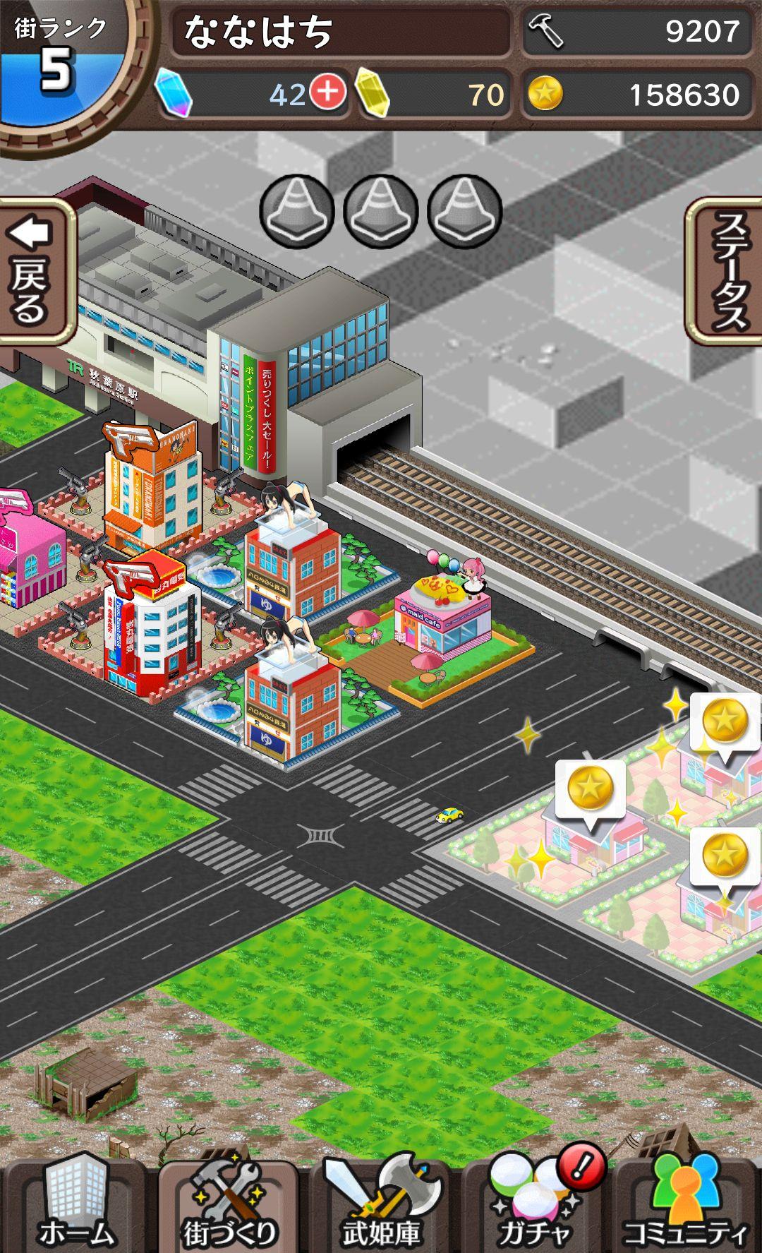 東京ダンジョンRPG ひめローグっ! androidアプリスクリーンショット2