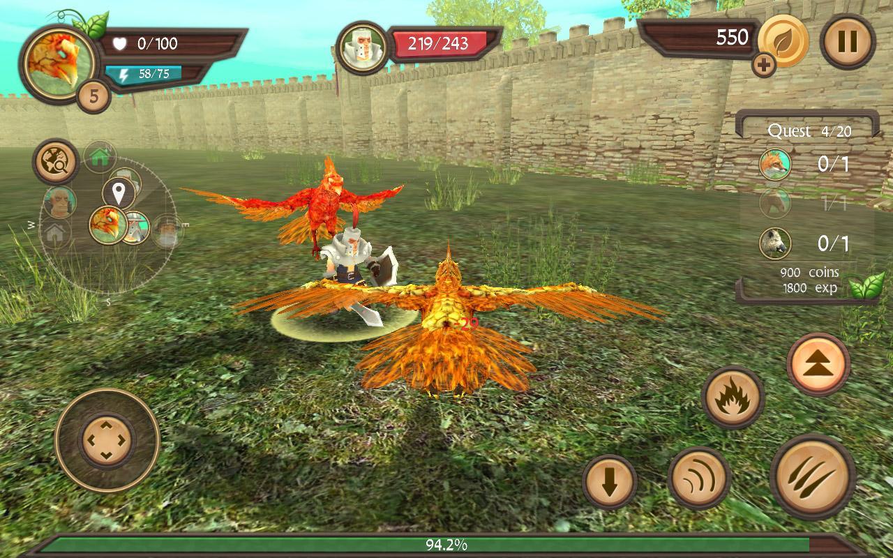 androidアプリ Phoenix Sim 3D(フェニックス シミュレータ)攻略スクリーンショット5