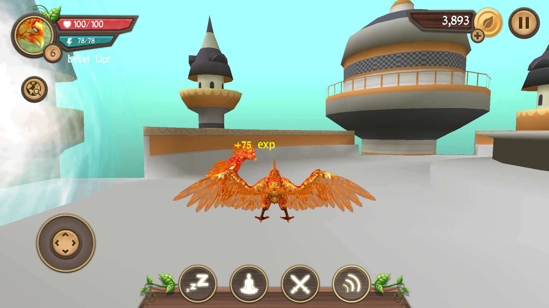 androidアプリ Phoenix Sim 3D(フェニックス シミュレータ)攻略スクリーンショット7
