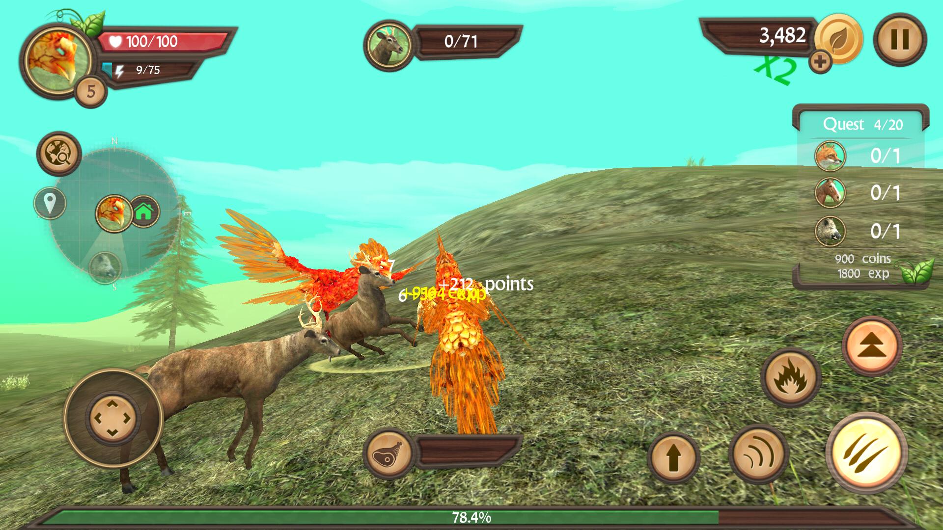 Phoenix Sim 3D(フェニックス シミュレータ) androidアプリスクリーンショット2
