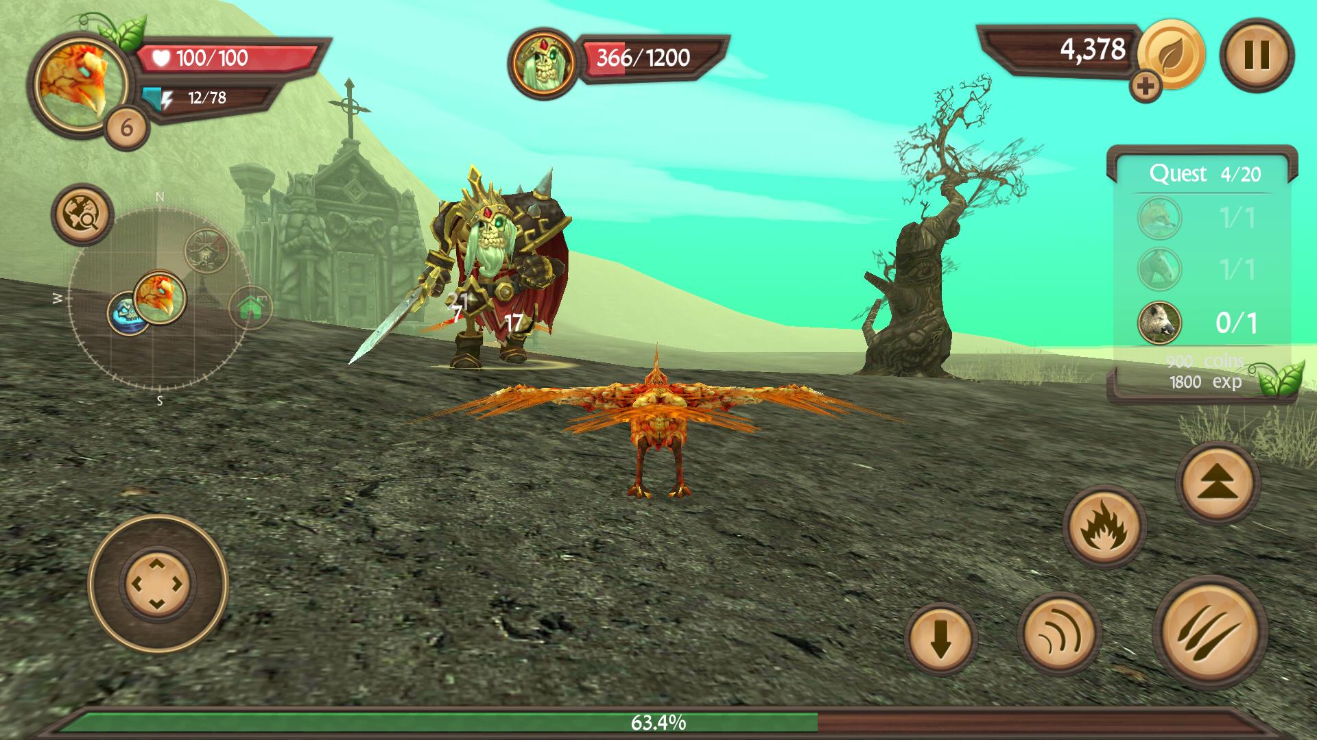 Phoenix Sim 3D(フェニックス シミュレータ) androidアプリスクリーンショット3